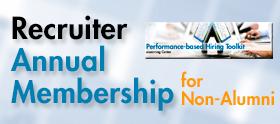 Recruiter eLC Annual Membership